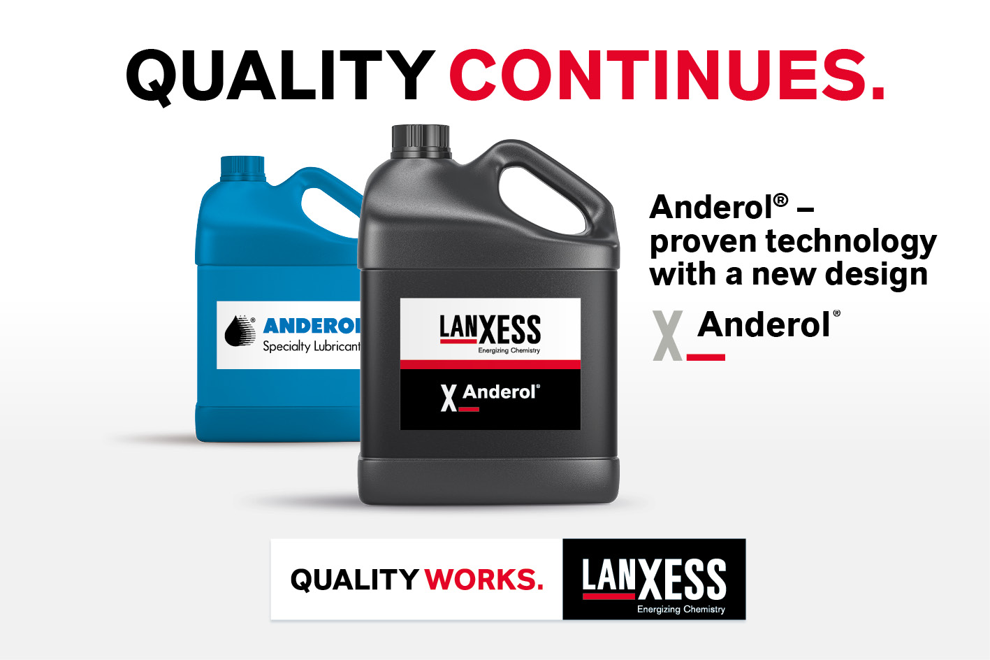 Anderol Quality Continues Banner